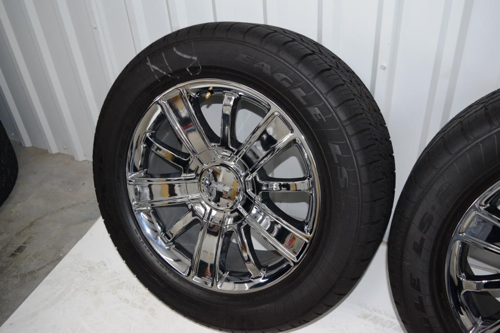 Chevy 20 inch High Country Wheels OEM Factory Rims