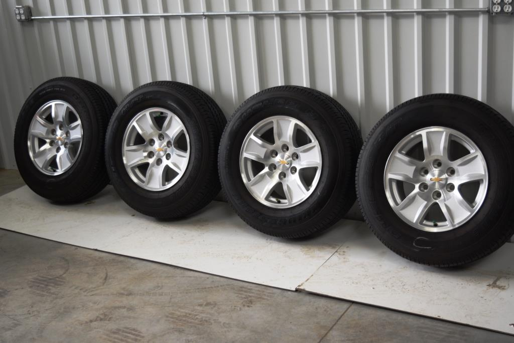 Chevy 17 inch OEM Wheels Tires Factory rims | OEM Factory ...