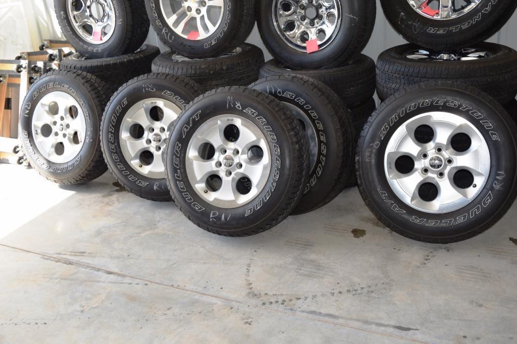 ... Jeep Wrangler Sahara Wheels Tires Rims For Sale