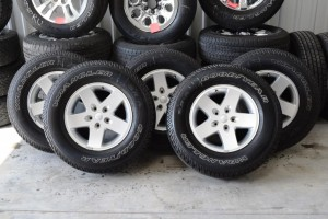 jeep wrangler alloy oem wheels tires for sale