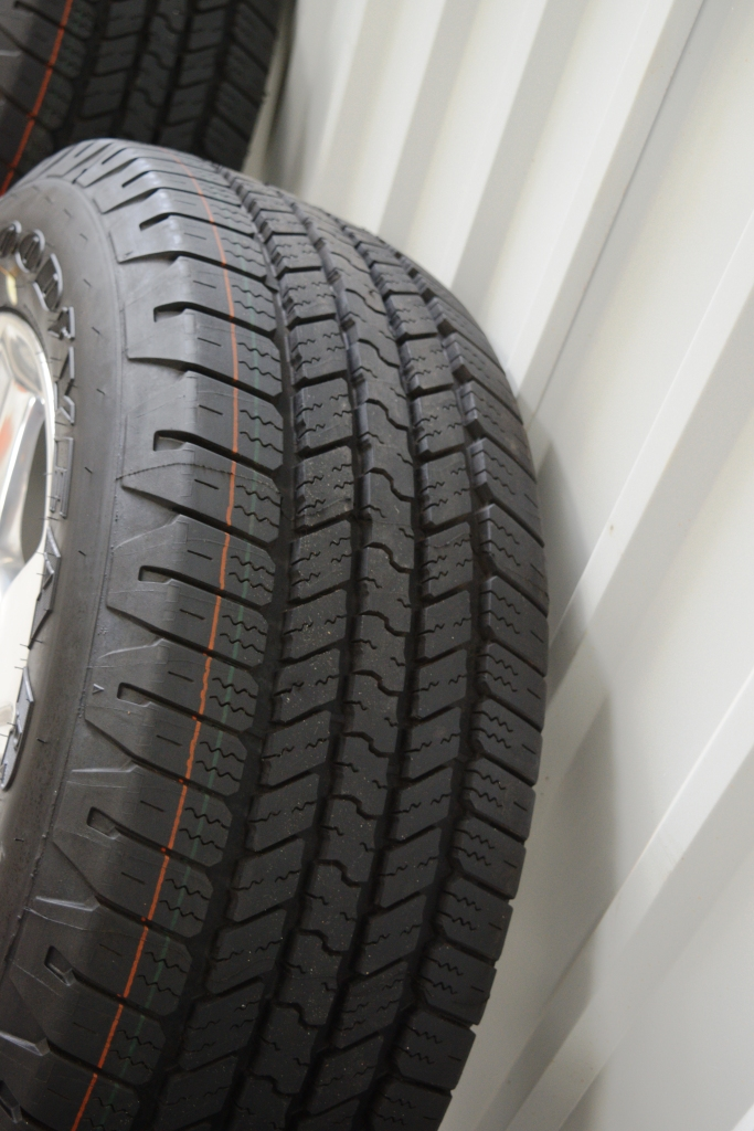 Good Year Tire Sale >> goodyear wrangler sra tires on chevy 20 inch polish wheels | OEM Factory Wheels Rims Ford Chevy ...