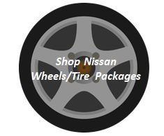 nissan oem factory wheels tire packages