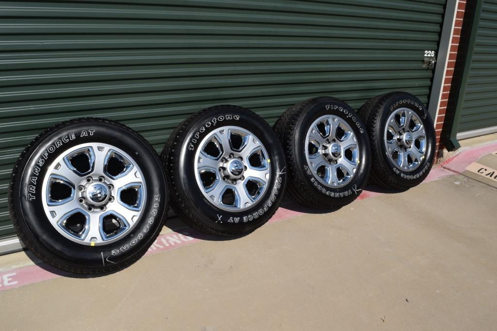 2014 Dodge Ram Wheels and Tires For Sale - Lar Longhorn