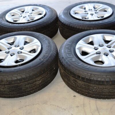 chevy traverse 17 inch oem wheels tires