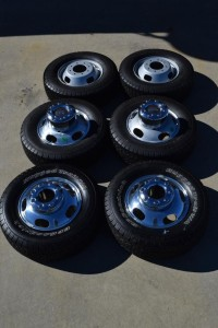 Ford Factory Wheels and Tires