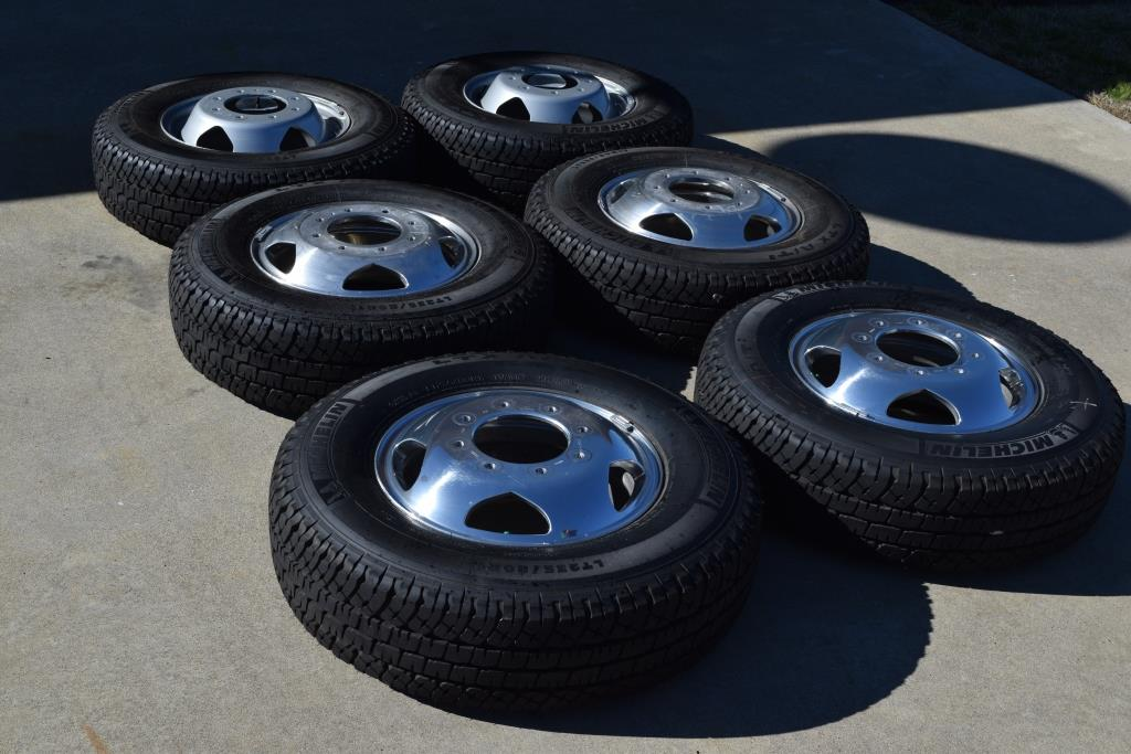 factory chevy wheels tires - 3500 dually