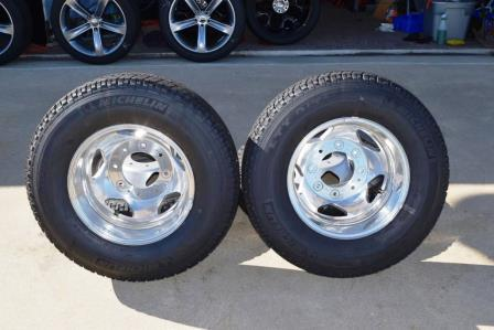 chevy 3500 oem dually rims and tires for sale