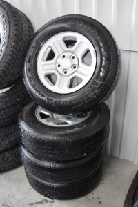 used 16 inch jeep steel wheels