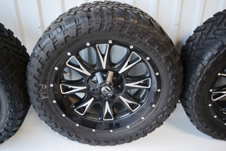 22 Inch Tires >> Fuel 22 Inch Wheels And Tires For Sale Oem Factory Wheels Rims