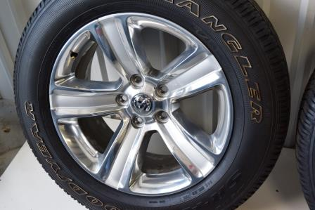 Dodge Ram 1500 20 Inch Polish Wheels Tires Package