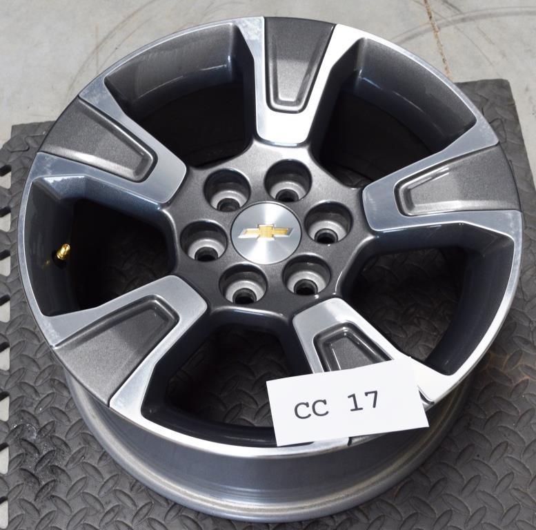 New 2015 2016 Chevy Colorado 17 Inch Wheels OEM Factory