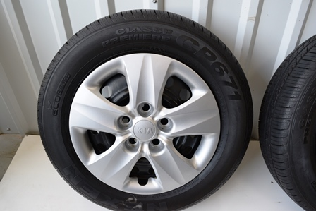 Kia 15 Inch Soul 2014 2015 oem factory wheels