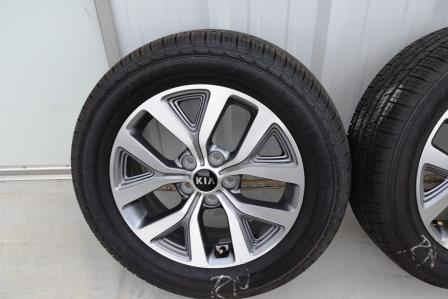 kia sportage 17 inch wheels oem factory